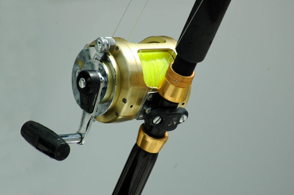 Close up Photo of a Reel of a Casting Rod